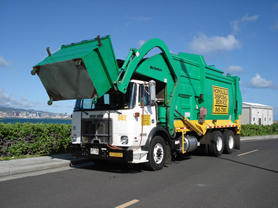 Oahu Front End Disposal Truck