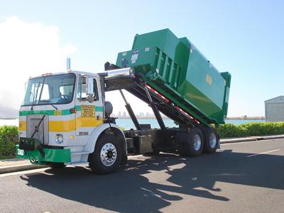 Oahu Compactor Service Truck