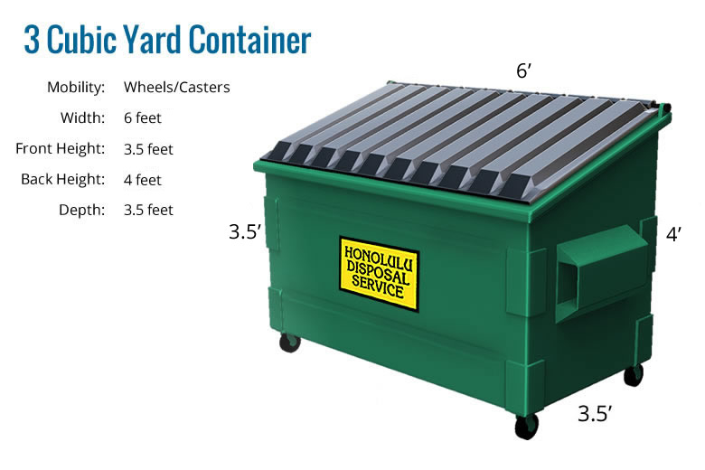 Containers Honolulu Disposal Service
