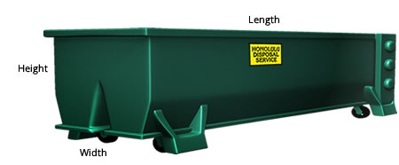 Open Top Waste Container
