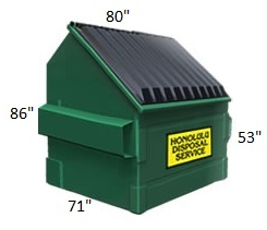 8 Cubic Yard Container